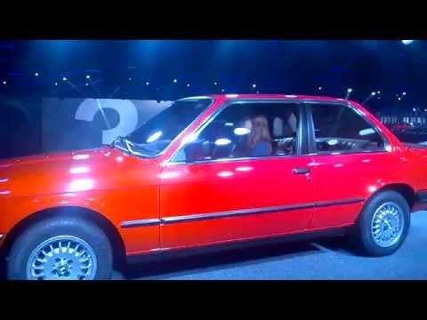 BMW 3-series show. IAA - 2015. Frankfurt am Main