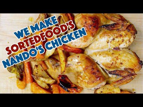 Glen Makes Sorted Food's Nando's Chicken Recipe