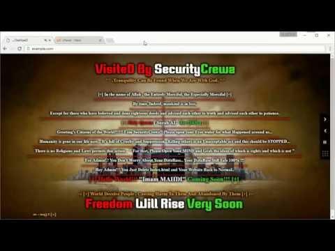 Repair Hacked WordPress Powered Website