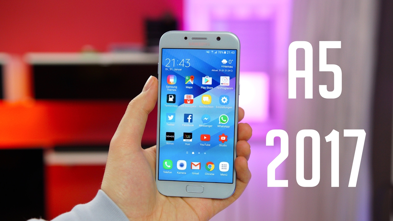 review samsung galaxy a5 2017 deutsch swagtab youtube. Black Bedroom Furniture Sets. Home Design Ideas