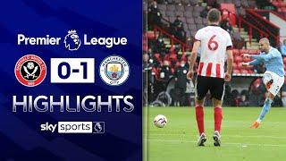 Walker lashes home winner against former club! | Sheff Utd 0-1 Man City | Premier League highlights