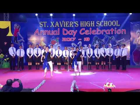 Welcome Song By St.Xavier's Students (swagat Hai Ap Ka)