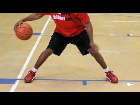 Уроки Баскетбола - Дриблинг На Месте