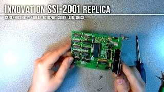 SSI-2001 Replica Unboxing (+ SID Chip installation)
