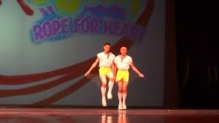 畢業公演--雙人跳繩