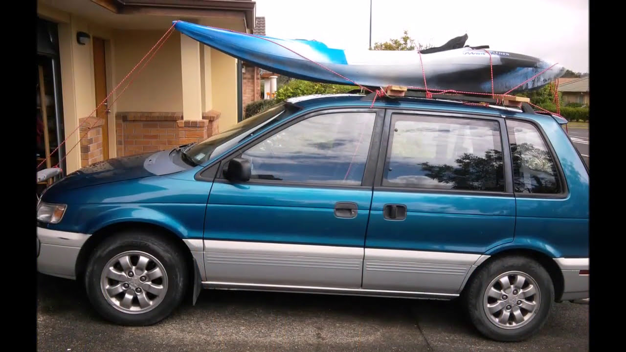 Diy Kayak Roof Rack Under 5 Youtube