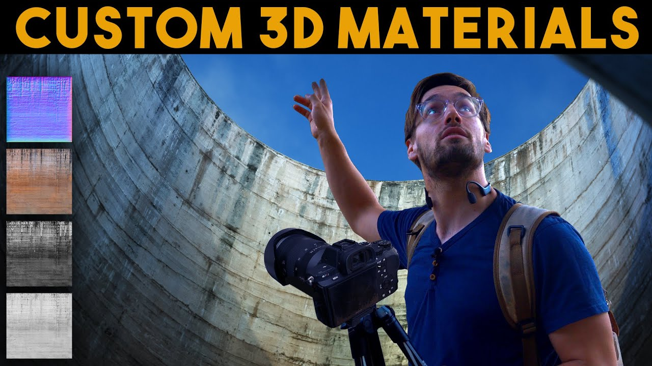Capture and Create your own Custom 3D Materials | FULL WORKFLOW