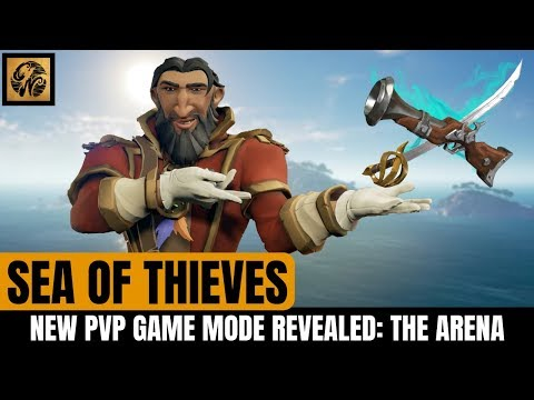 THE ARENA - NEW PVP Sea of Thieves Game Mode! // New Trade Company / Rewards and More! #SeaofThieves