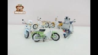 | 開箱 | 日本 扭蛋 青島文化 1/32 super Cub 本田機車 青島 機車 模型 轉蛋 lov.2 第二彈 公仔 | Wenwens | 分享文