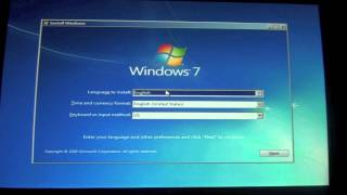Installing Windows 7 Professional on Boot Camp