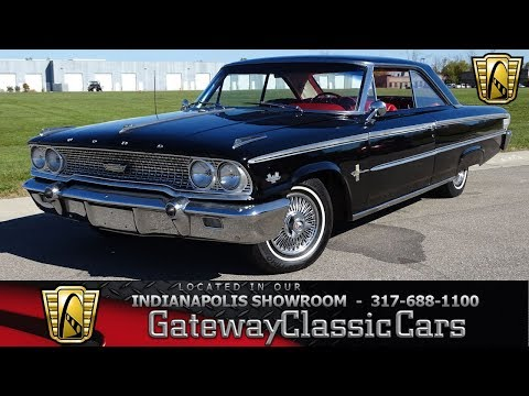 1963 Ford Galaxie, Gateway Classic Cars - Indianapolis #1155