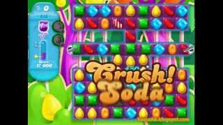 Candy Crush Soda Saga - level 513 (No boosters)