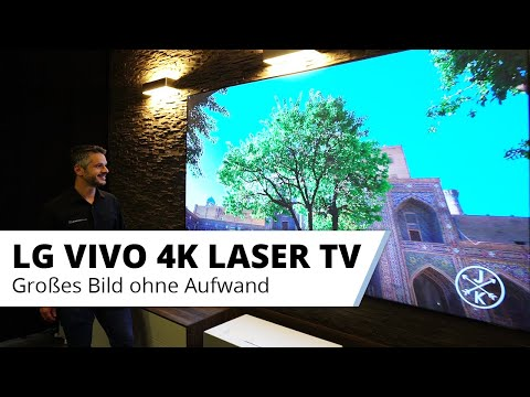 LG Vivo - der ideale 4K Laser TV