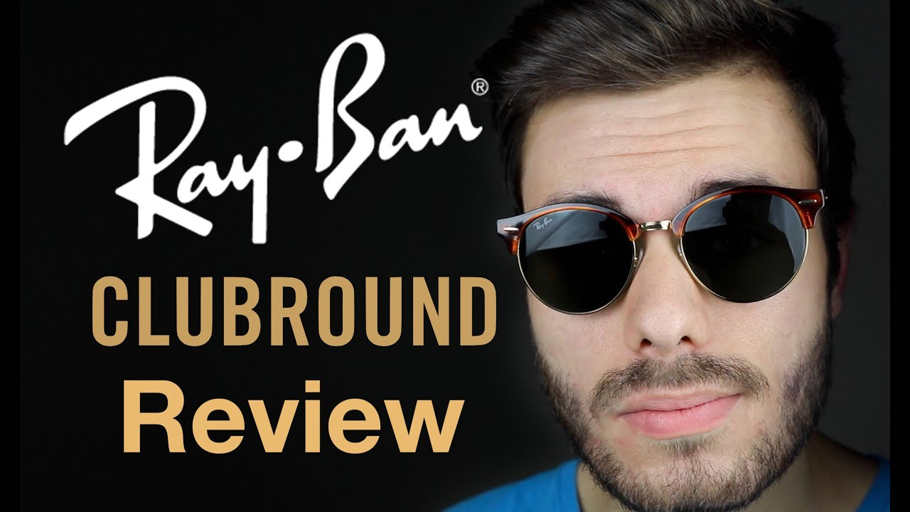 62d150b48f6e0 Ray-Ban Clubround Review - YouTube
