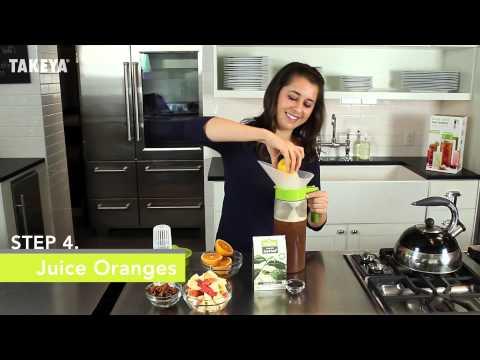 Takeya Iced Tea Recipe How-To: Classic Black iced tea infused with Apple, Cinnamon & Orange