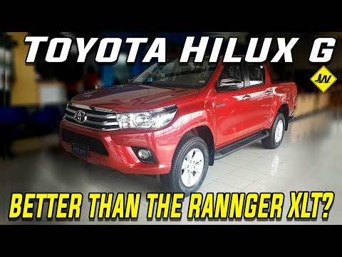 2019 Toyota Hilux 2.4G review is it better than the Ford Ranger XLT Philippines