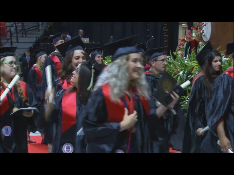 TTU HSC School of Health Professions Commencement May 2017