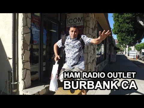 PY2KDU visita a HRO (Ham Radio Outlet) em Burbank na Califórnia.