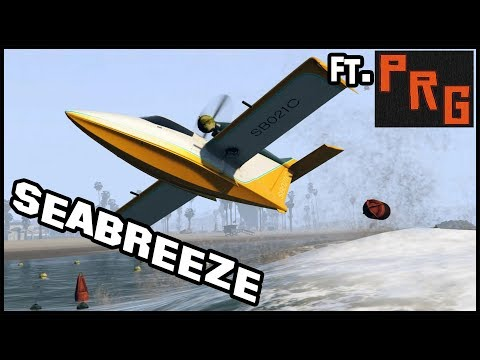 SEABREEZE ft. Pyrerealm Gaming | Customization and upgrades | GTA Online Smugglers Run