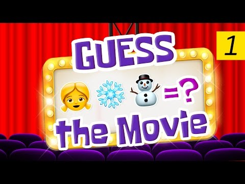 Can You Guess All The Movies?  Emoji Challenge 1 😃