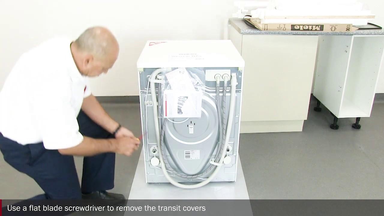 Laundry Washing Machine Installation - YouTube