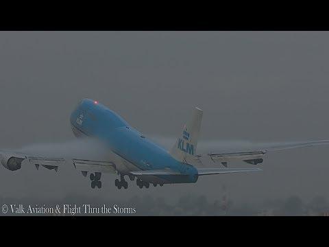 Last Flight of Captain Hans Klijn @ KLM B747