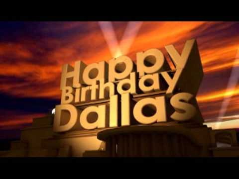 Happy Birthday Dallas