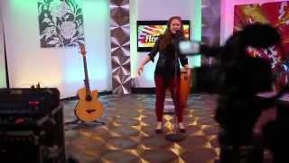 Houston al día- Tania Brou detrás de camaras