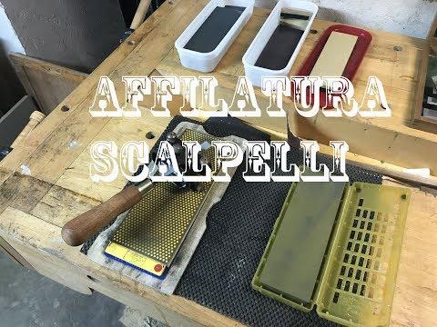 Affilatura scalpelli - sharpening chisel