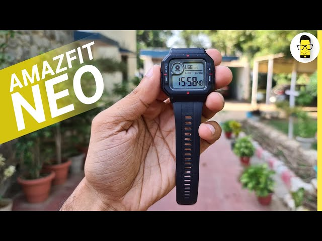Amazfit Neo review: A different kind of smartwatch!