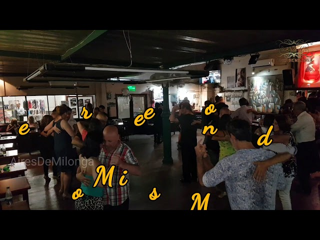 Gran martes milonguero, La Yapa milonga, tango en Montevideo, de Pepe y Mónica Solari