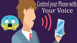 How to Control Your Phone with Voice in Urdu|hindi|How to use android by voice access