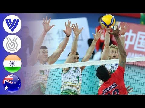 India Vs. Australia - Full Match   AVC Men's Tokyo Volleyball Qualification 2020
