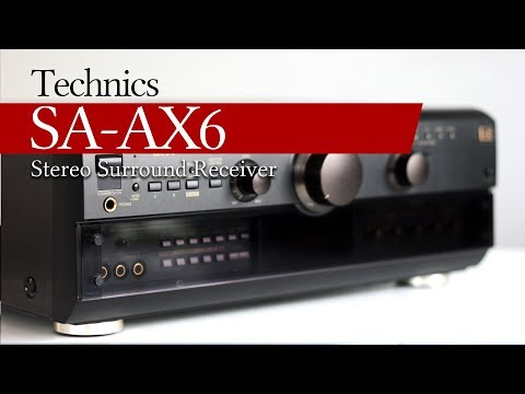 Technics SA-AX6 Stereo Surround Receiver