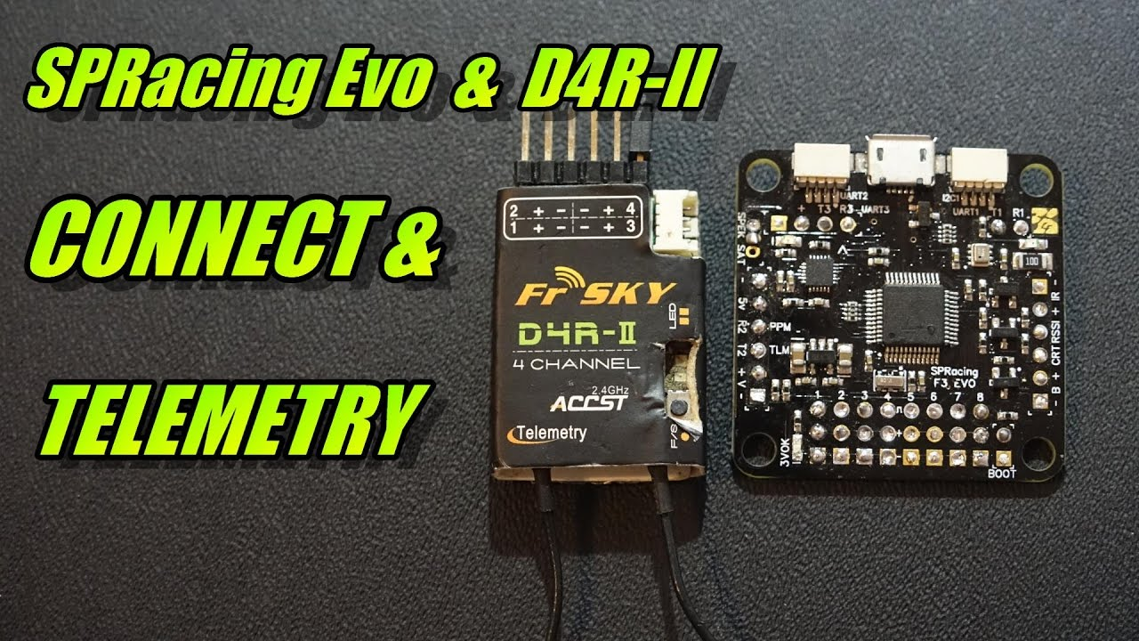 Setting up telemetry on FrSky Taranis with D4R II receiver - Oscar on