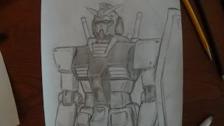 "My Pencil Drawing: Gundam RX-78: ""Mobile Suit Gundam"""