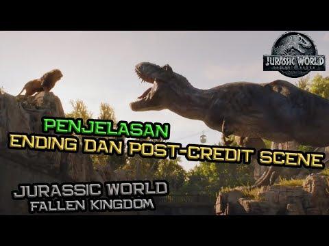Penjelasan Ending Dan Post-Credit Scene Jurassic World: Fallen Kingdom
