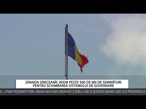 Zinaida Greceanîi: Avem peste 500 de mii de semnături pentru schimbarea sistemului de guvernare