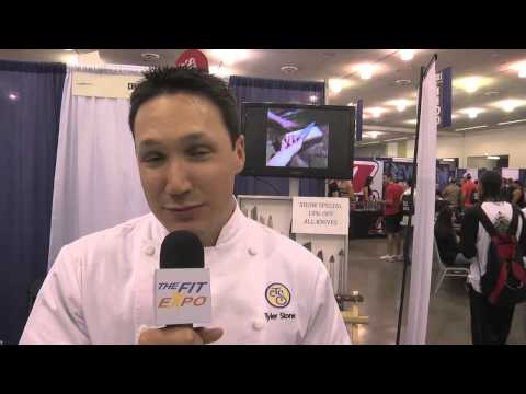 Chef Tyler Stone 2014 SJ Fit Expo Interview