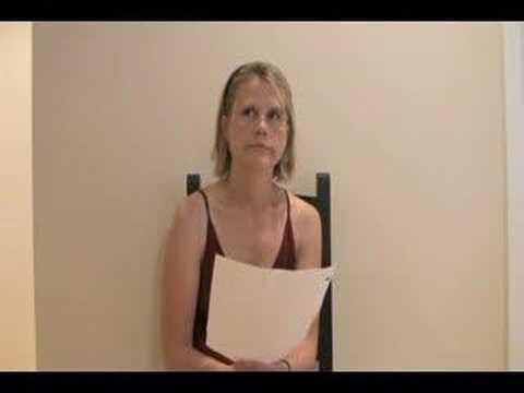 found footage of M. Night Shymalan audition