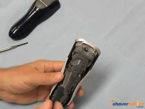 Philips Norelco Select Models Shaver Disassembly