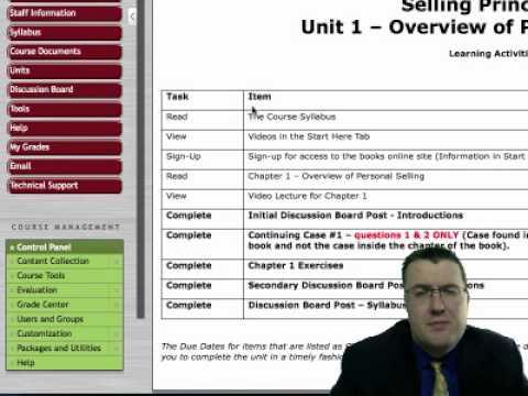 Online Course Navigation