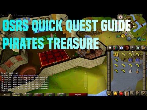 Osrs Quick Quest Guide Pirates Treasure 3:14