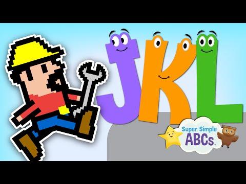 The Sounds of the Alphabet | J-K-L | Super Simple ABCs