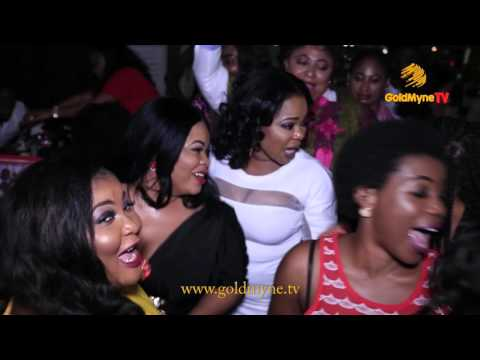 DAYO AMUSA, RONKE ODUSANYA, DESMOND ELLIOT & OTHERS AT IYABO OJO'S PA, GBEMI'S BIRTHDAY