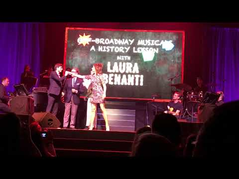 Off Broadway History Lessons with Laura Benanti at The Obie Awards