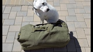 Review of the Military Issued Duffel Bag or Sea Bag