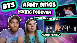 BTS Army Sing Young Forever @ Speak Yourself Wembley Stadium London Concert Reaction **We Cried**