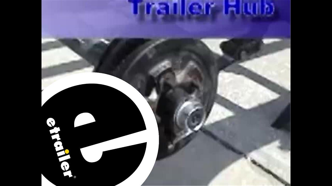 medium resolution of remove and reinstall a trailer hub review etrailer com