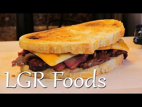 LGRwich №7 – Beef Brisket & Spicy Colby Jack